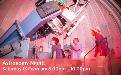 Astronomy Night - 13 February 2016