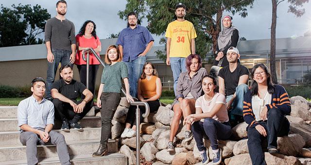 Sweatshop Group Photo