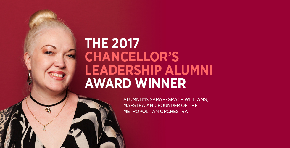 2017 Chancellor's Leadership Alumni Award Winner