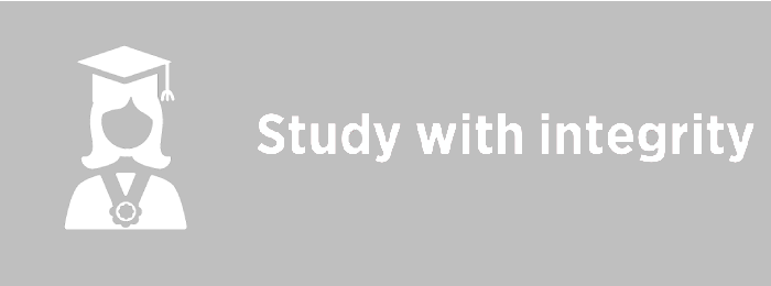 Study with integrity