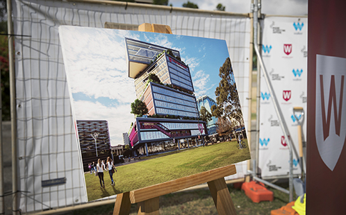 Artist impression of the Bankstown City campus.