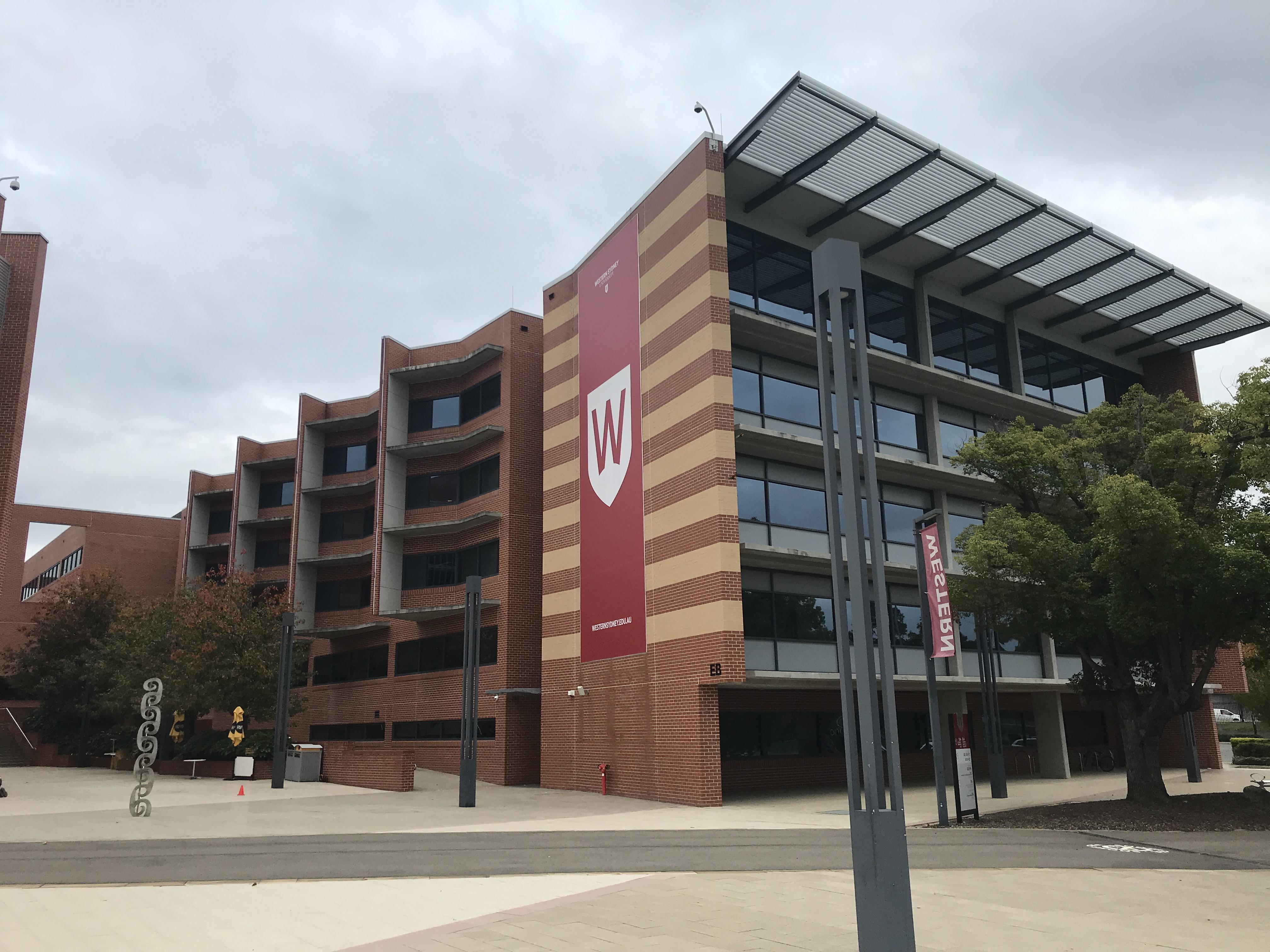 Building EB at Parramatta South Campus