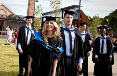 Autumn Graduation 2012