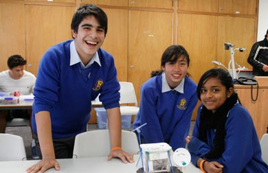 Penrith High School students build an eco-friendly model home