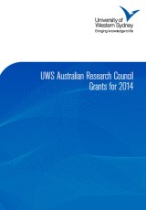 UWS ARC Grants for 2014