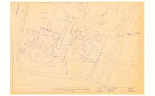 Parramatta Campus - Plan showing progressive work as executed as at 24 April 1997