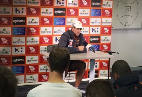 GWS Giants press conference