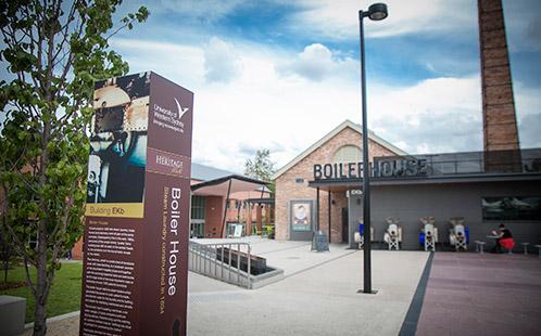 Boilerhouse Parramatta Campus post renovation