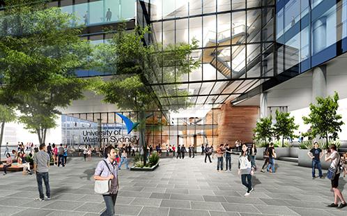 UWS Parramatta City artist impression