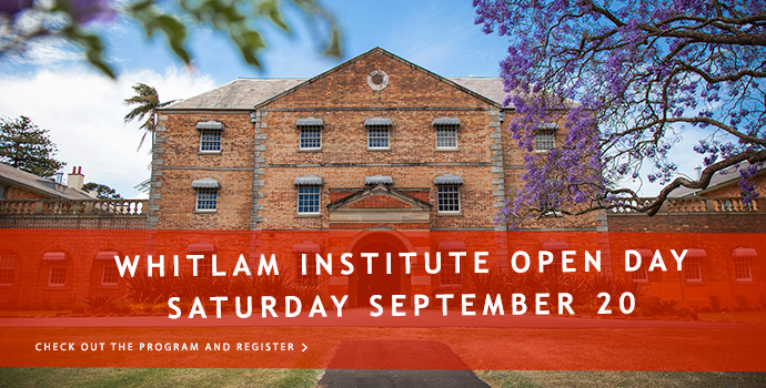 Whitlam Institute Open Day 2014