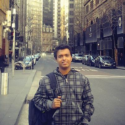 Gaurang in Sydney