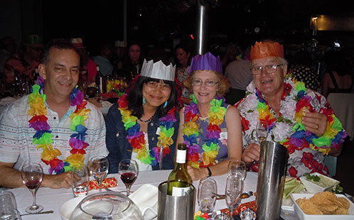 Christmas party 2014 - Bayside Grill, Novotel Sydney Brighton Beach