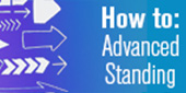 Link to How to guide for Advanced Standing