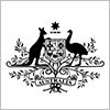The crest from the ARC logo featuring a kangaroo and emu.