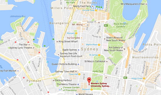 Sydney City Campus - Location