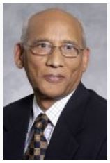 Portrait of Prof V P Singh