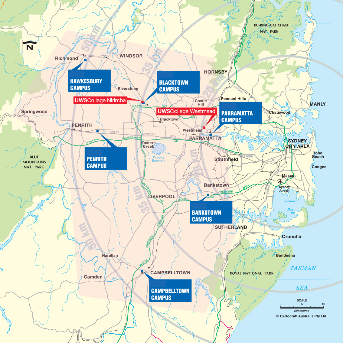 view a map of the location of greater western sydney jpg 9448 kb opens