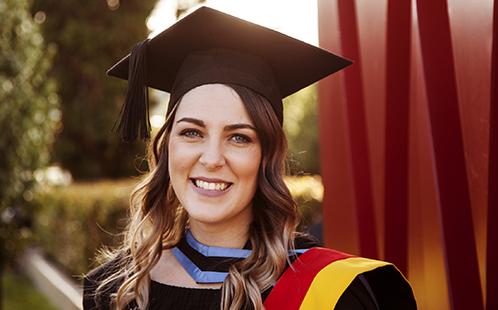 Graduate Dannielle Roberts
