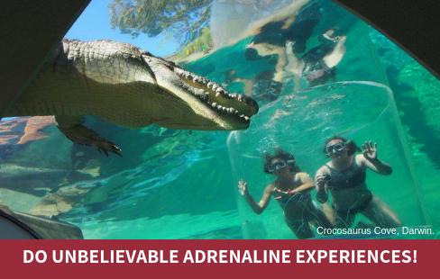 Do unbelievable adrenaline experiences