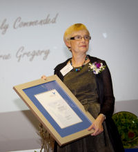 Prue Gregory Highly Commended 2010 UWS Women of the West Award