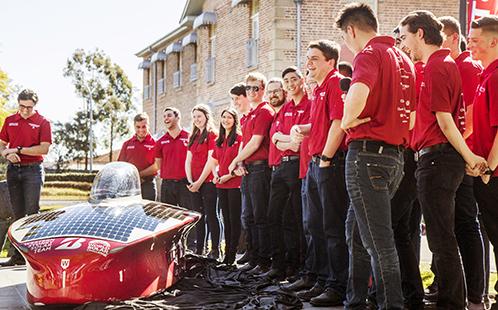 Western Sydney University's Solar Car Team unveils UNLIMITED 3.0