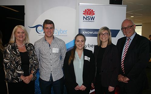 Emma Seaman cyber ambassador and student