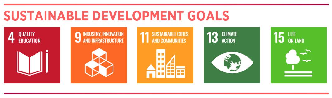 SDGs 4,9,11,13