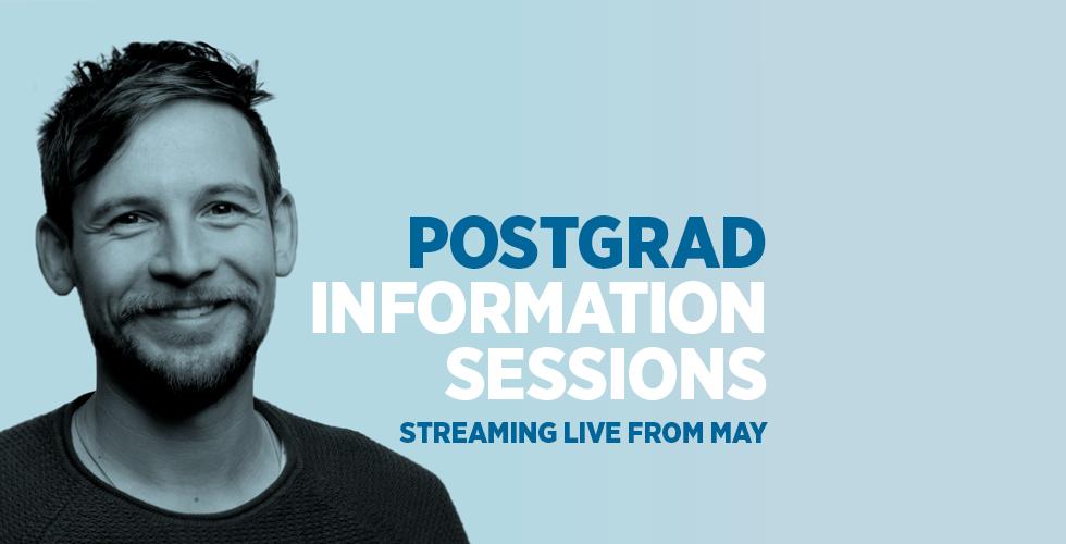 Postgraduate Info Sessions