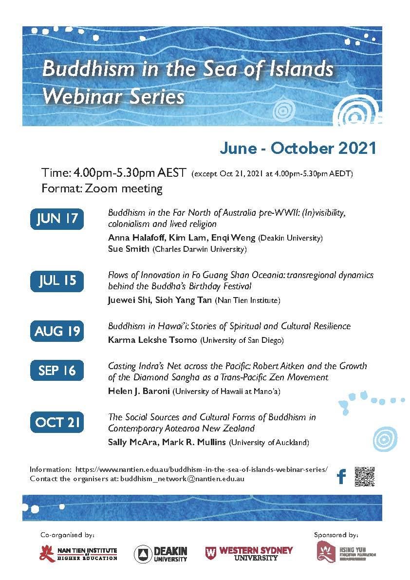 Buddhism in Sea of Islands Seminar Series