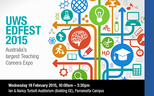 UWS EdFest | Australia's Largest Teaching Careers Expo