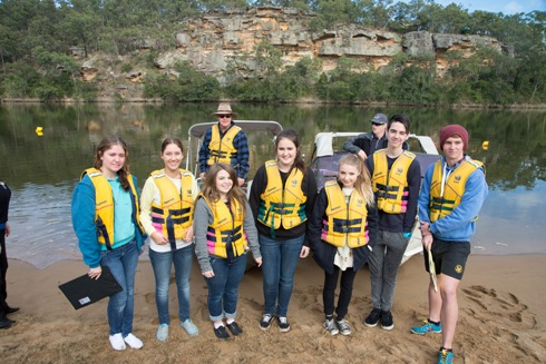Sackville Hawkesbury River inc students