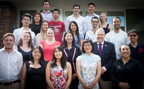 Fujian scholarship students