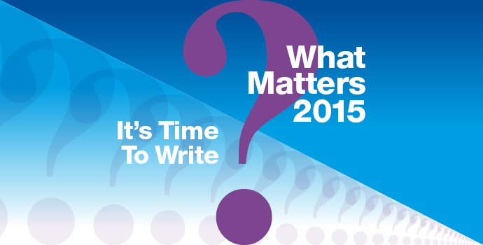 What Matters? 2015