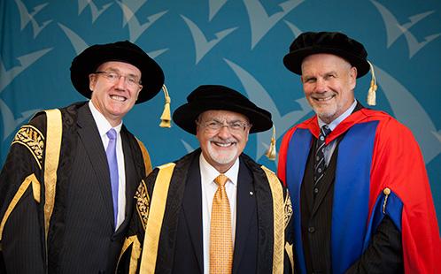 Barney Glover, Peter Shergold & Peter FitzSimons
