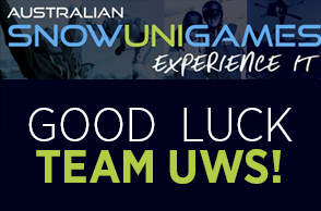 Good Luck Team UWS at Snow Sports!