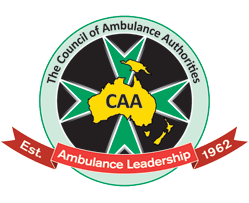 Accreditation logo of The Council of Ambulance Authorities