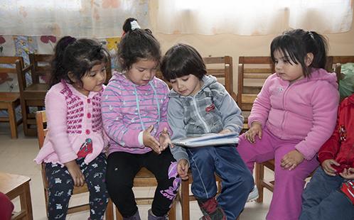 children participating in the Futuro Infantil study