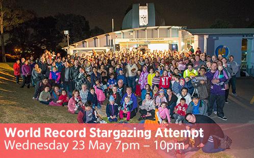 World Record Stargazing 23 May 2018
