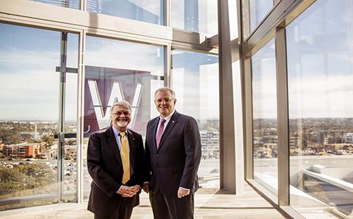 Professor Peter Shergold and The Hon. Scott Morrison MP