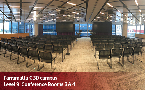 Parramatta CBD Campus, Level 9, Conference Room 3 and 4
