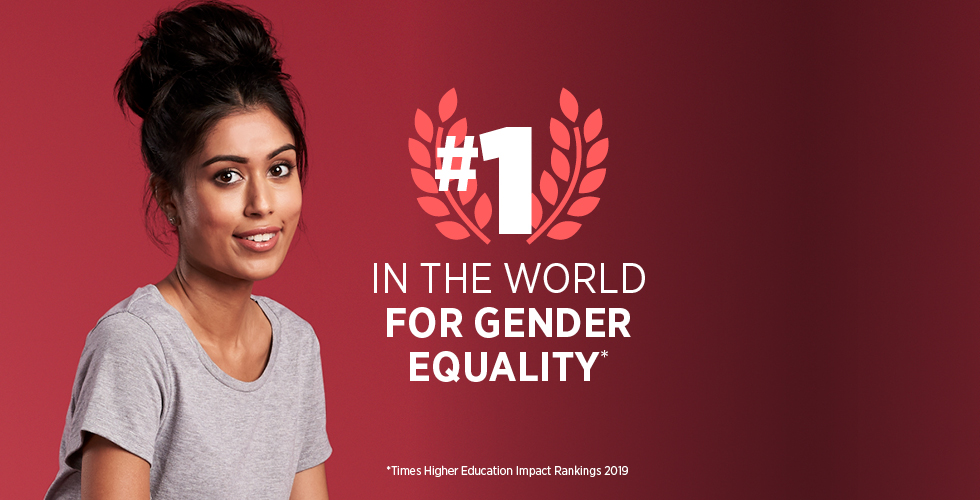 No. 1 in the world for gender equality