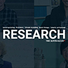 Thumbnail of blue background with the word Research