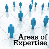 Areas of Expertise Banner