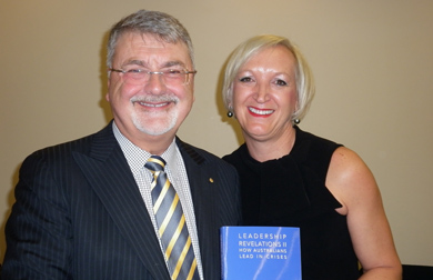 Peter Shergold and Avril Henry