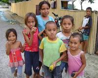 Children in East Timor.