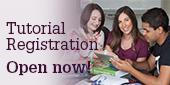 Tutorial Registration is now open