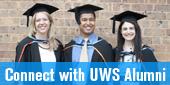 Connect with UWS Alumni - link to UWS Alumni Website