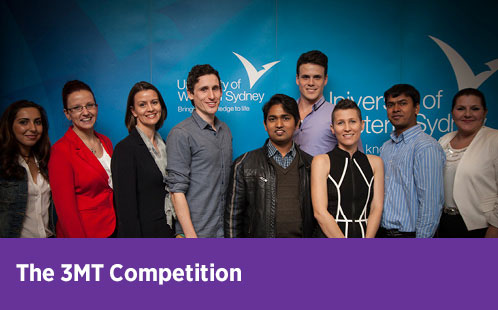 The 3MT Competition