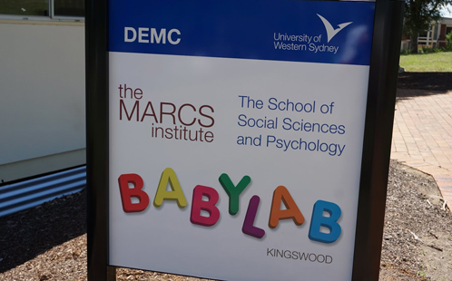 Babylab Penrith sign