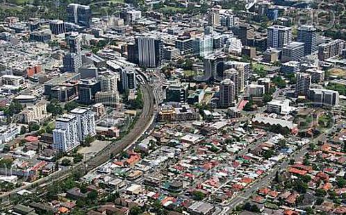 Parramatta aerial